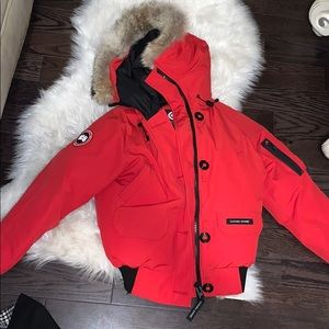 Womens Authentic Chiliwack Bomber -red